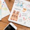Lovely Streets wristlet - Ce qui me charme à Paris (FR)