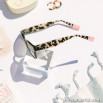 Gafas de sol de inyección - Negro + Estampado + Rosa
