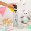 Termo de acero gris Saro Baby - Pandas