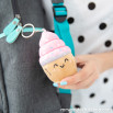 Squishy plush keyring - Cupcake