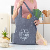 Foldable shopping bag - Collect memories, not plastic bags