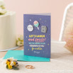 Greetings card – We're going to be celebrating for a while