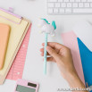 Pen with squishy - Unicorn