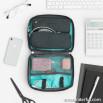 Cable pouch - Dream big & travel far