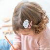Kit de clips para el pelo Beter - Nubes