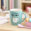 "Mug ""Life is wonderful, after coffee"" (ENG)"