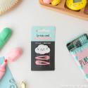 Kit de clips + gomas de pelo Beter - Corazón bandido