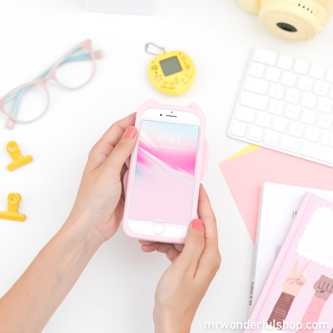 Coque pour iPhone 6/7/8/ Maneki-neko - Chance Collection