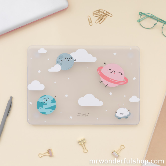 "Coque Macbook Air 2 13"" - Planètes"