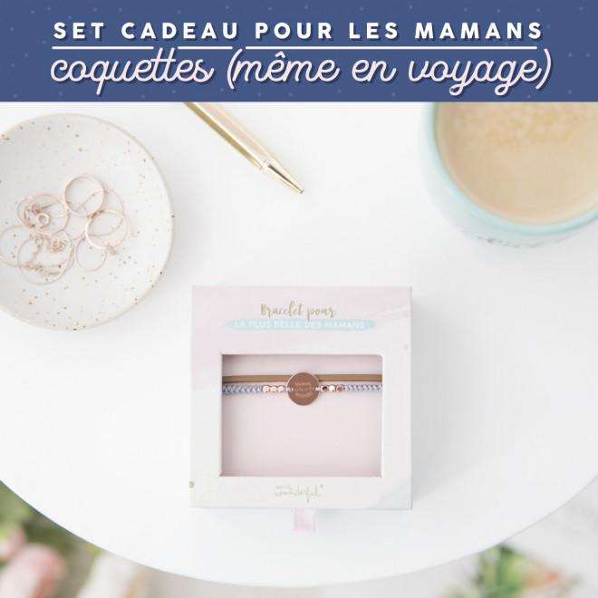 Set cadeau pour les mamans coquettes (même en voyage)