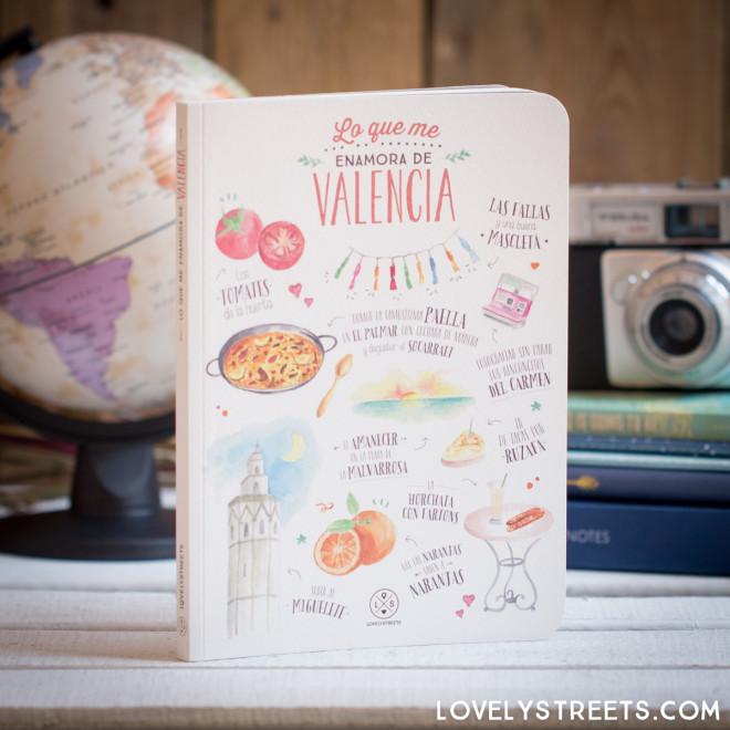 Carnet Lovely Streets - Lo que me enamora de Valencia