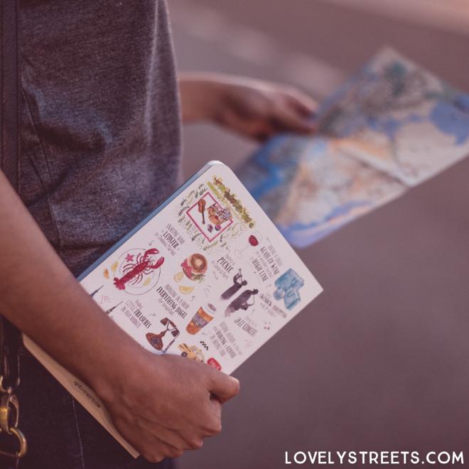 Carnet Lovely Streets - Things that make me love New York (ENG)