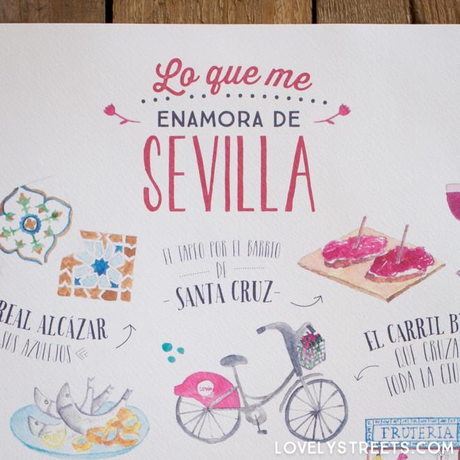 Affiche Lovely Streets - Lo que me enamora de Sevilla