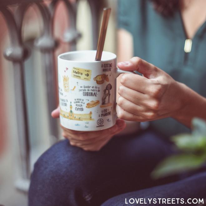 Mug Lovely Streets - Lo que me enamora de Madrid