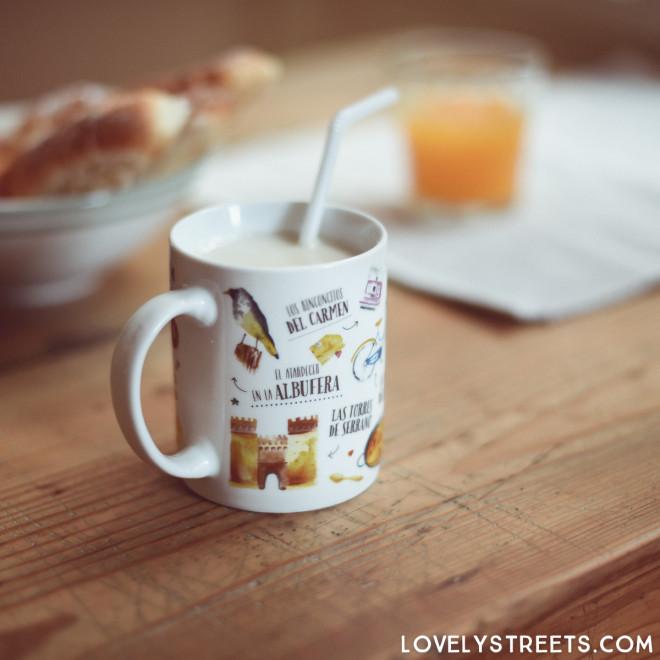 Mug Lovely Streets - Lo que me enamora de Valencia