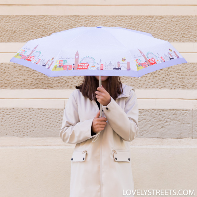 Parapluie petit Lovely Streets - London (FR)