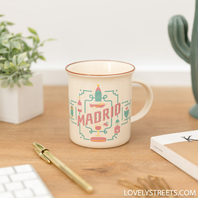 Mug Lovely Streets - Madrid