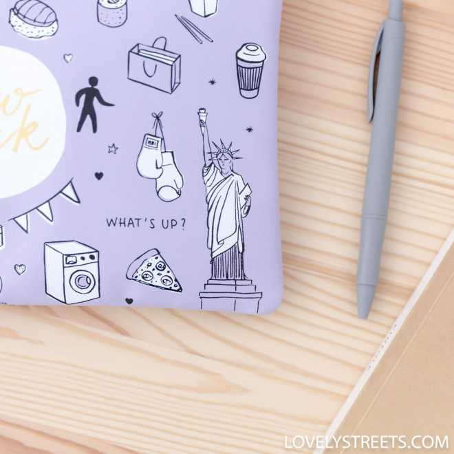 Pochette Sketch the World New York - Lovely Streets