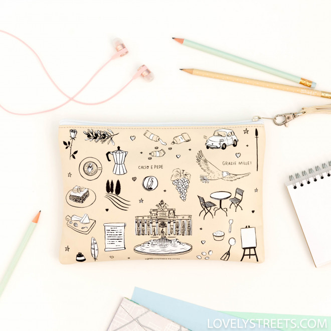 Pochette Sketch the World Roma - Lovely Streets