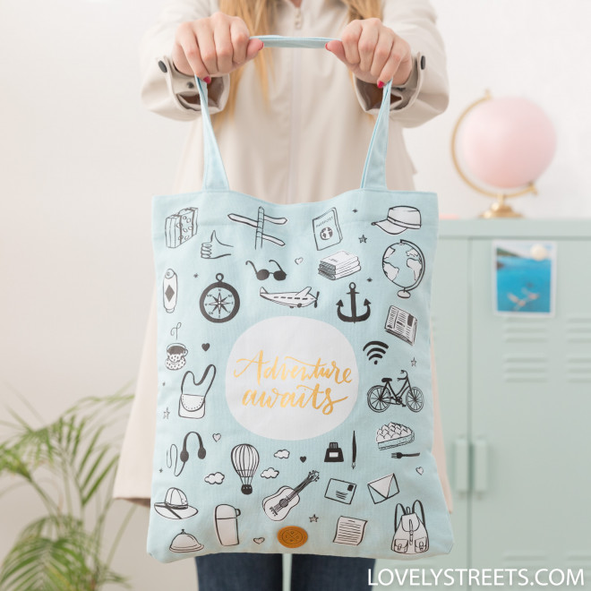 Tote bag Adventure - Lovely Streets