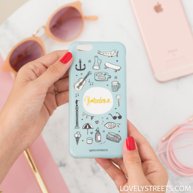 Coque Lovely Streets pour Iphone 6/6S - Barcelona