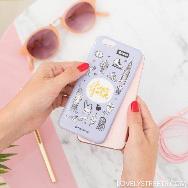 Coque Lovely Streets pour iPhone 6 - New York
