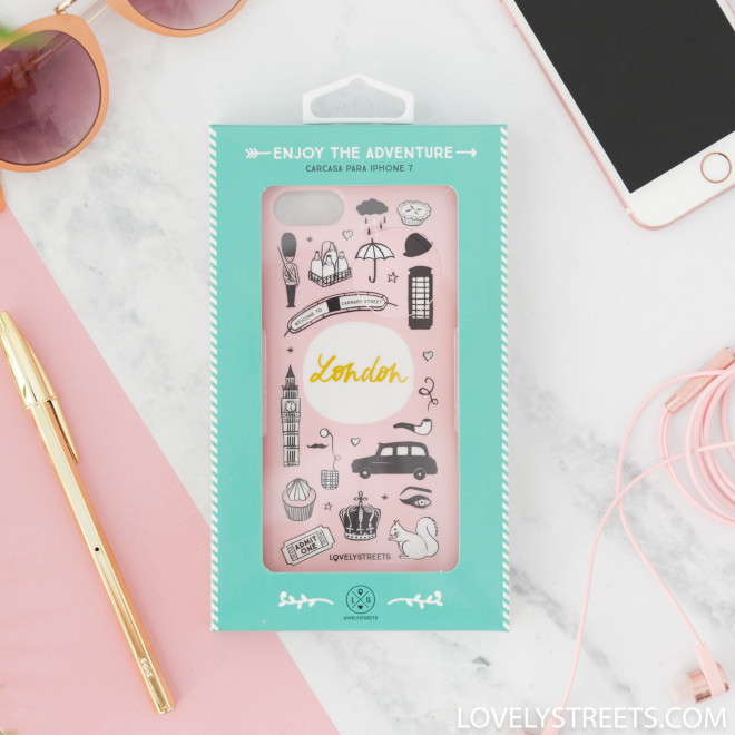 Coque Lovely Streets pour iPhone 7 - London