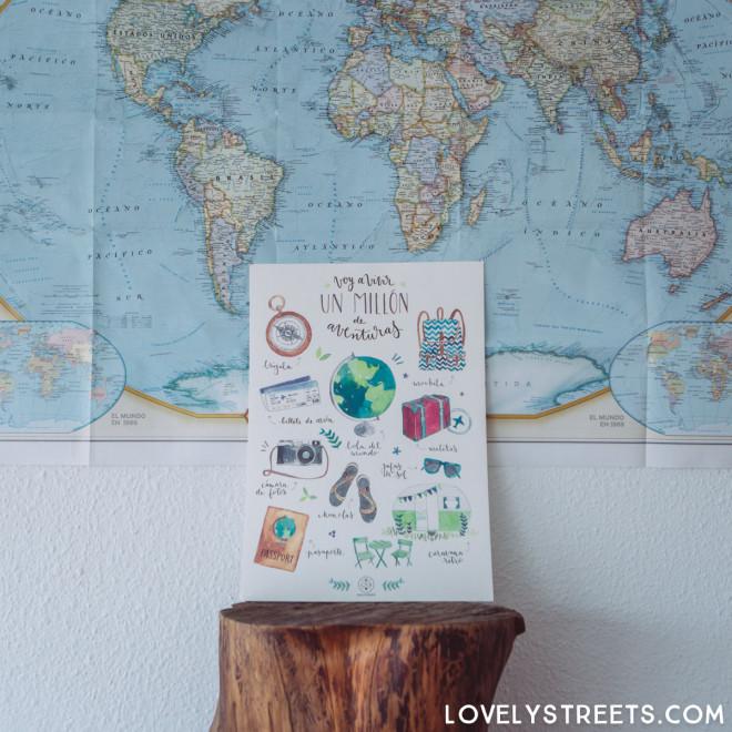 Affiche Lovely Streets - Voy a vivir un millón de aventuras