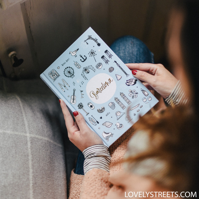 Carnet Lovely Streets - Sketch the world Barcelona