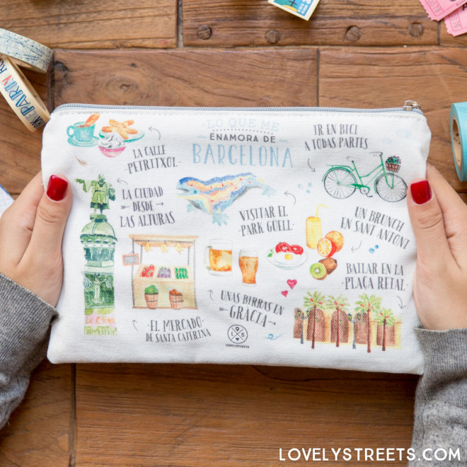 Pochette Lovely Streets - Lo que me enamora de Barcelona