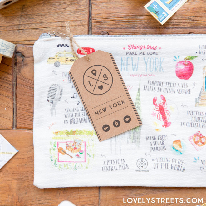 Pochette Lovely Streets - Things that make me love New York (ENG)