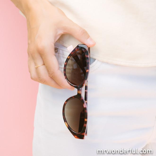 Gafas de sol de inyección Havana - Carey + Rosa
