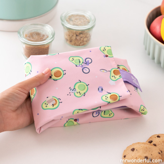 Sandwich roll bag Roll Eat x Mr. Wonderful - Avocados