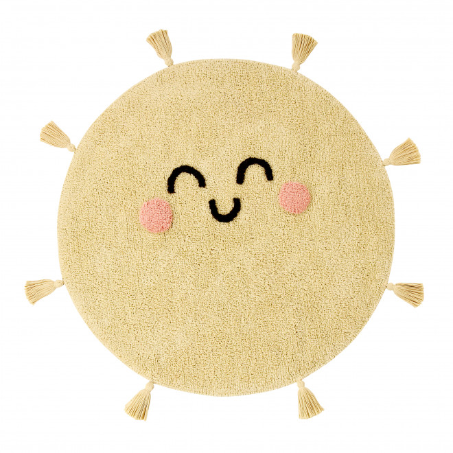 Alfombra lavable Lorena Canals Sol - You're my sunshine