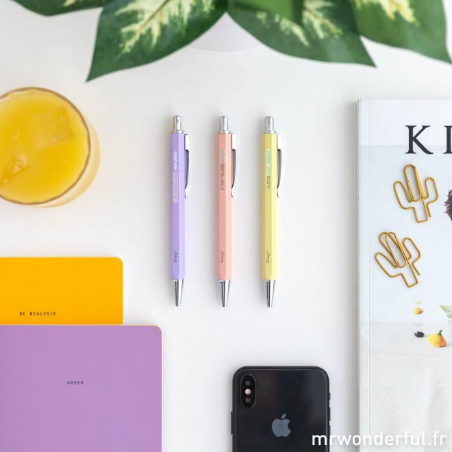 Kit de 3 stylos pour mettre le clavier au repos