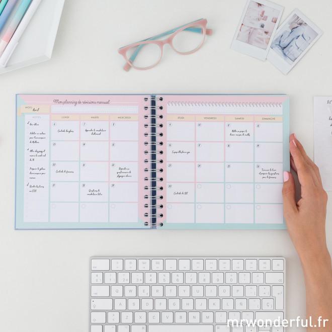 Planning de révisions - Le plan infaillible pour que l'année se déroule à merveille
