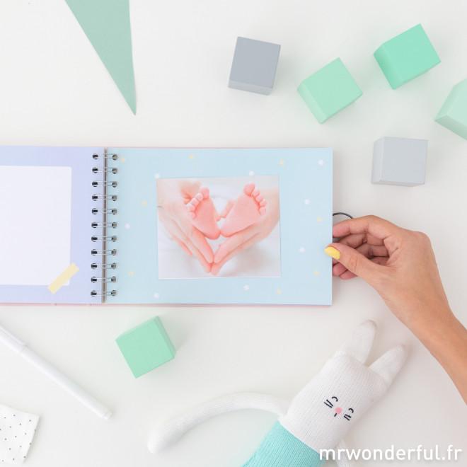 Album photos pour bébé rose - Les plus beaux moments de la star de la maison