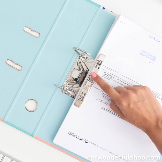Lever arch file - You're going to ace it