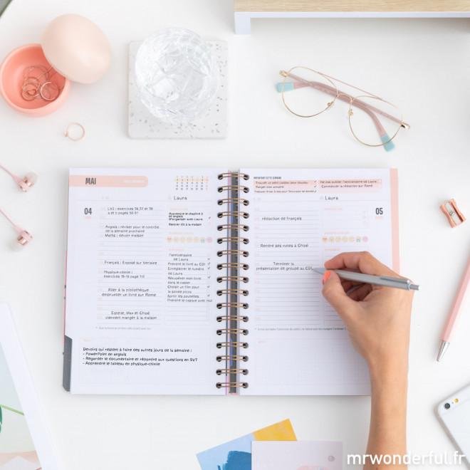 Agenda classique 2019-2020 Journalier