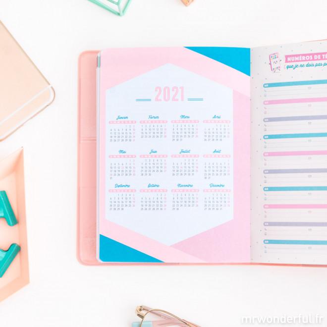 Agenda classique petit format 2019-2020