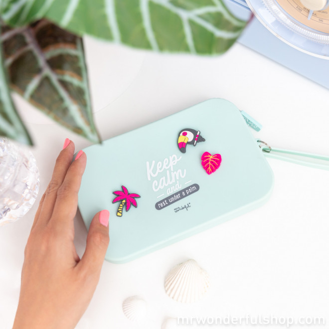 Pochette toucans - Tropical Vibes Collection