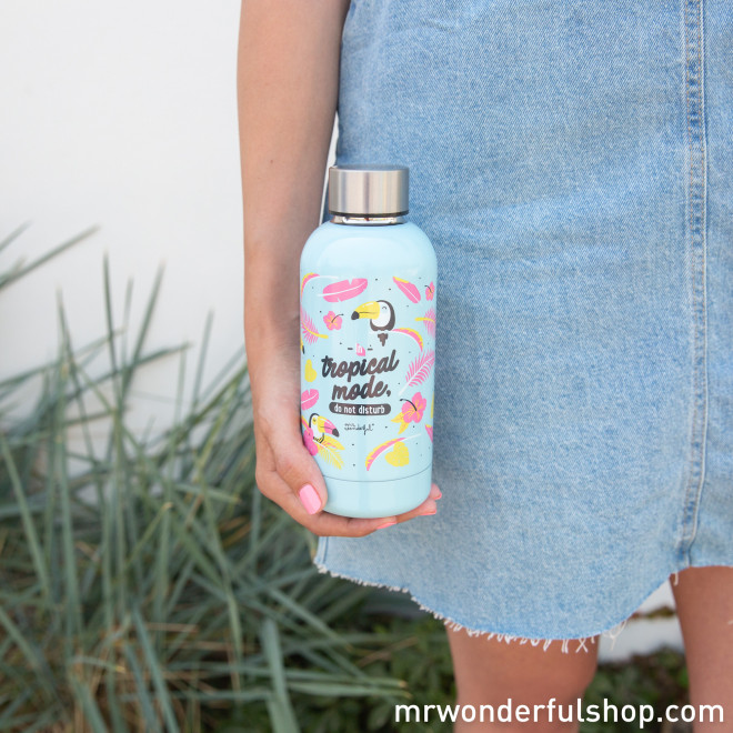 Bouteille toucan - Tropical Vibes Collection