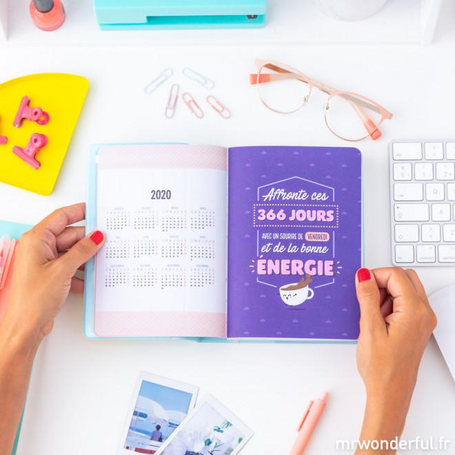 Agenda annuel classique petit format 2020 Journalier