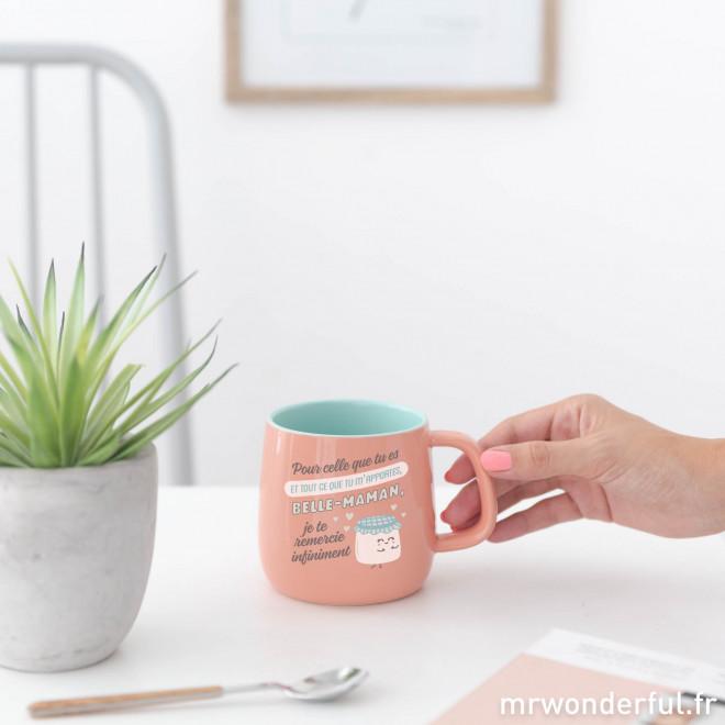 Mug - Pour tout ce que tu m'apportes, belle-maman
