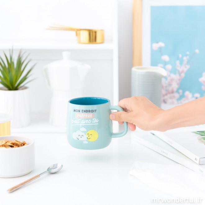 Mug - Mon endroit préféré, c'est avec toi