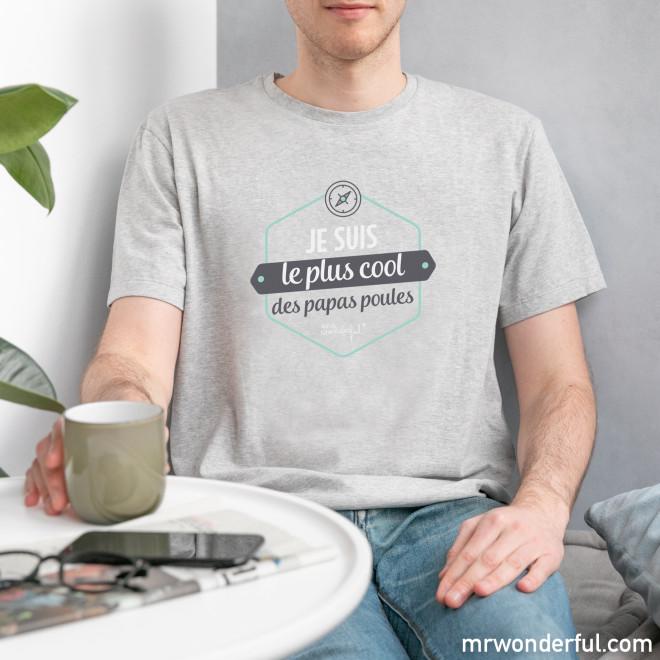 T-shirt - Je suis le plus cool des papas poules