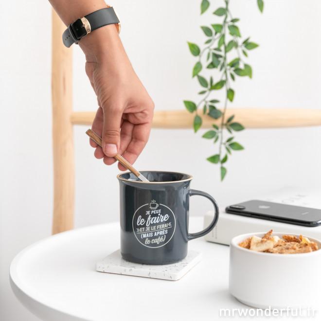 Mug - Je peux le faire et je le ferai (mais après le café)