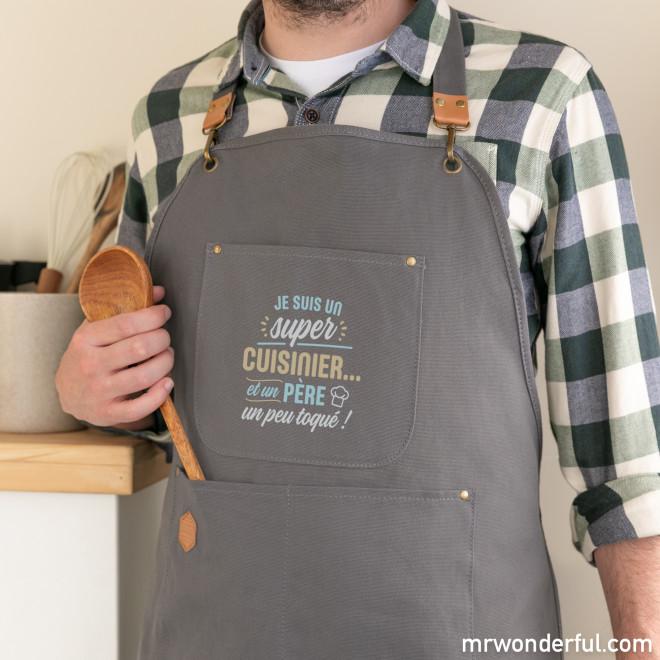 Tablier - Je suis un super cuisinier... et un père un peu toqué !