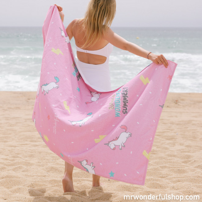 Serviette de plage - Wonderful summer