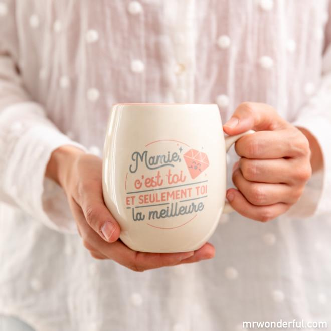 Mug - Mamie, c'est toi et seulement toi la meilleure